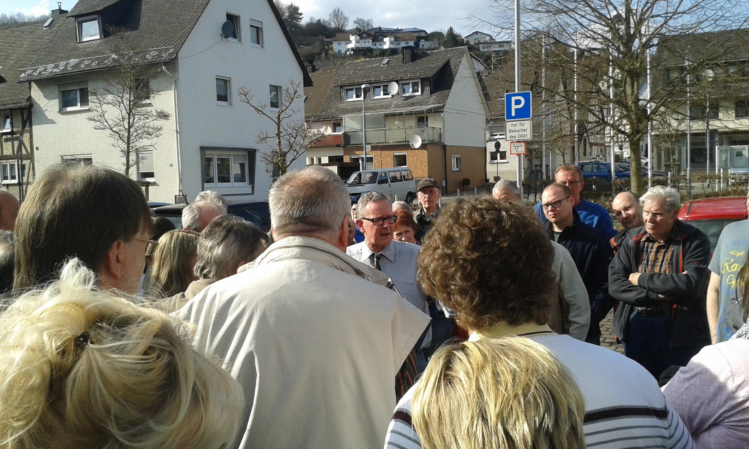 1.Bürgersprechstunde mit Bürgermeister Schramm